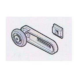 Support haut + galet de roulement LPU20